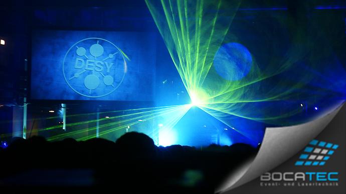 Eröffnungsshow DESY PETRA III 2009
