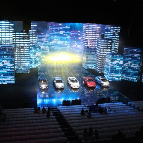 Übersicht über die LED Wände und die Modelle