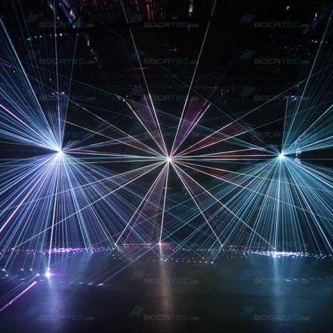 Laserinstallationen für kleine und große Clubs