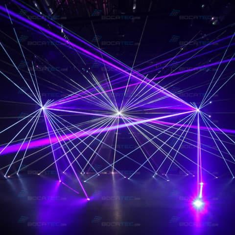 Lasershows für Hochzeiten