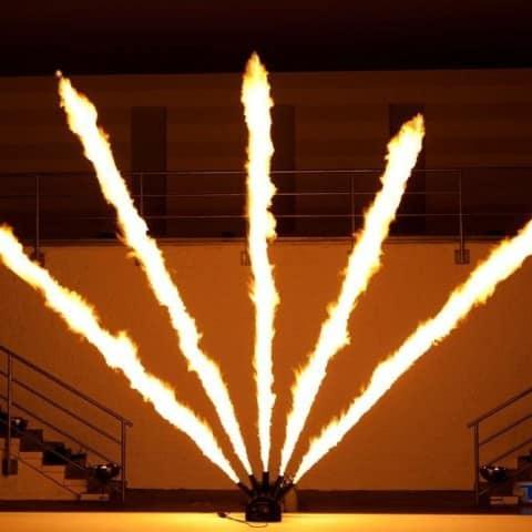 Five Master Flammenprojektor