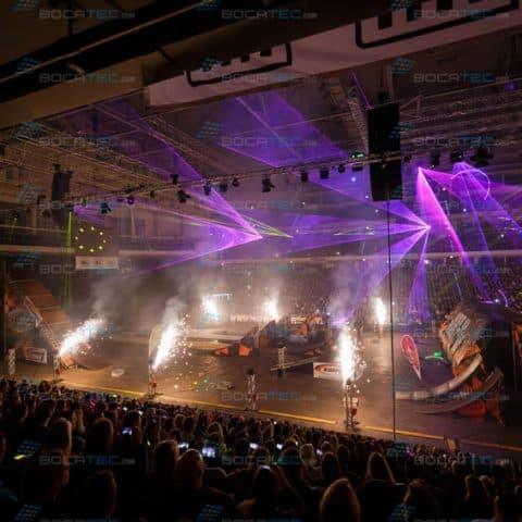 Feuerwerk mit Lasershow buchen
