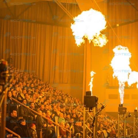 Flamereffekt Pyrotechnik