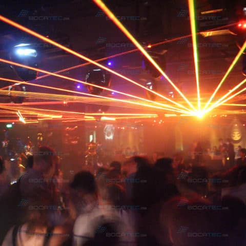 Club Laser Installation