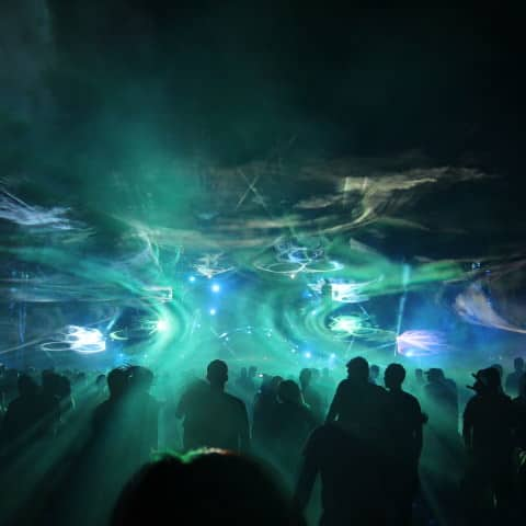 Outdoor Lasershow