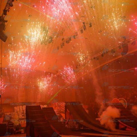 Indoor Feuerwerke buchen
