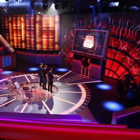 LED-Leinwand-Fernsehstudio