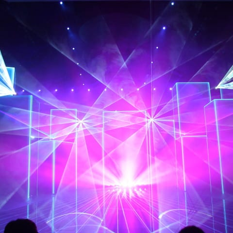 Lasershow in China