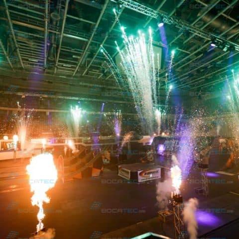 Pyrotechnik und Feuerwerk mieten für Events