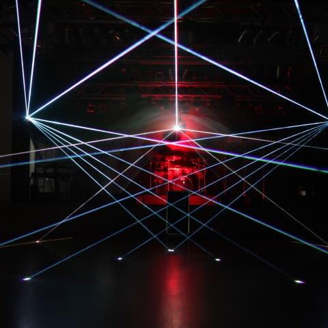 Lasershow gefällig? Wir installieren für Sie!