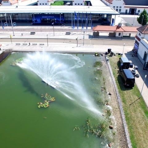Wasserschild bei Bocatec mieten