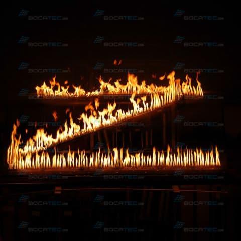 Brennender Buchstabe