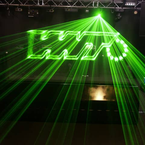 Fogwall laser projection