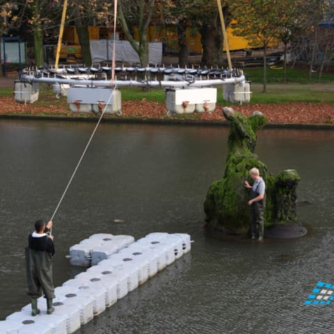 Installation unserer Wassertechnik