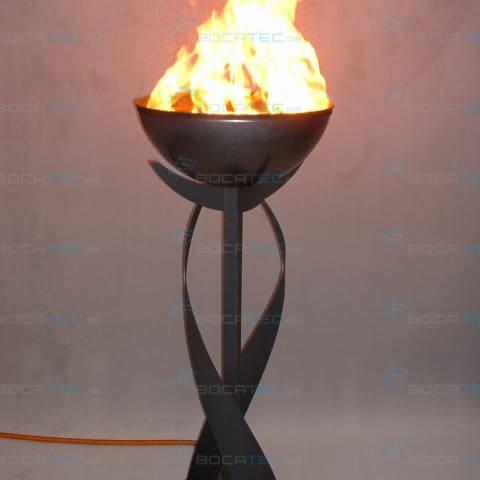Edelstahl Feuerschalen