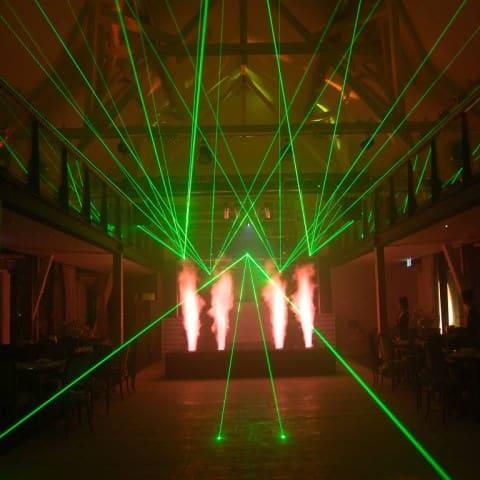Laser- und Pyrotechnik