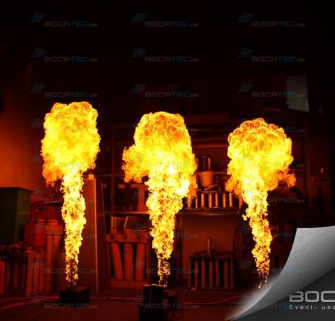 Flammeneffekt