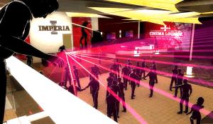 Visualisierung einer Club-Installation