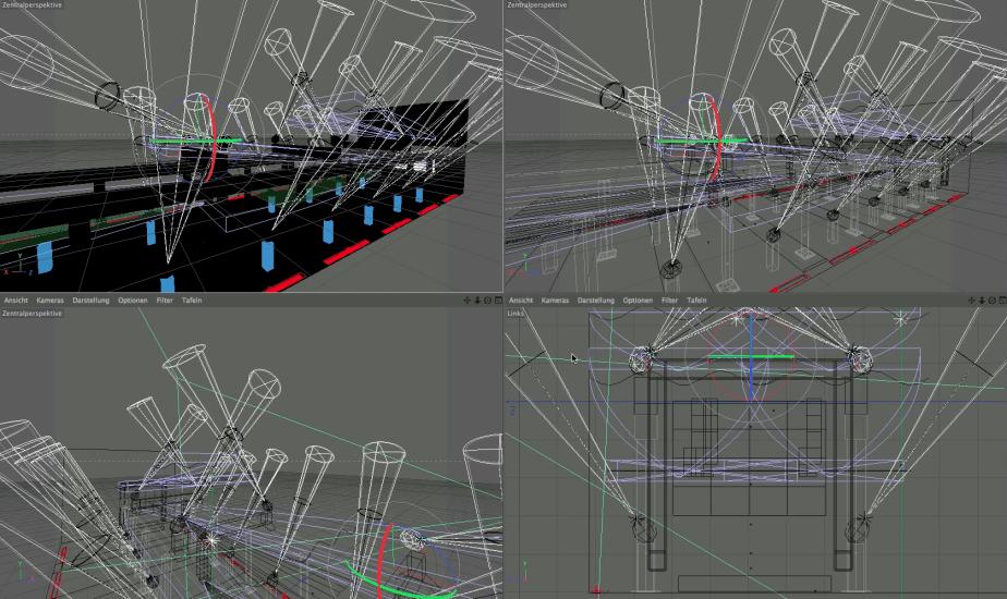 3D Visualisierung + Showkonzept
