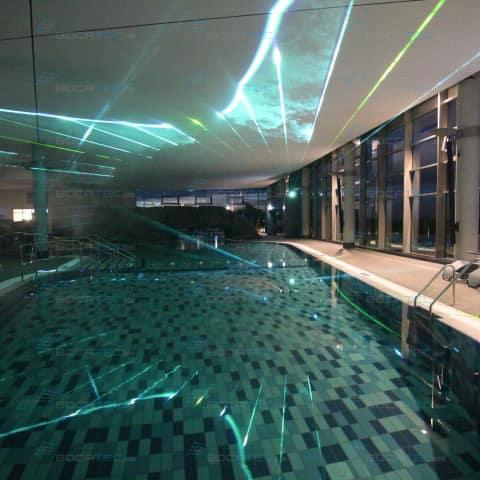 Installation im Schwimmbad