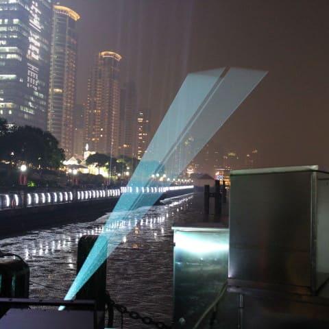 Laserprobe in Shanghai