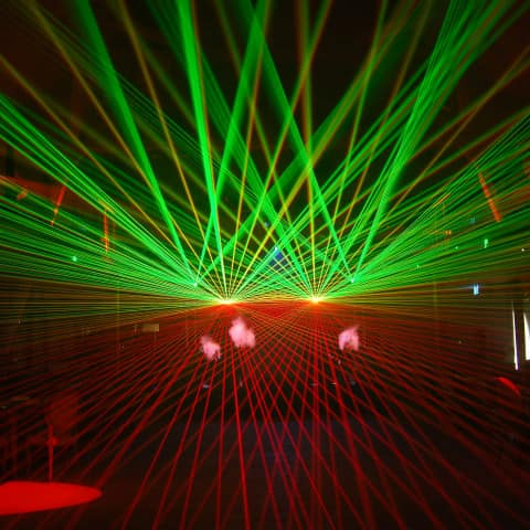 Indoor Lasershow