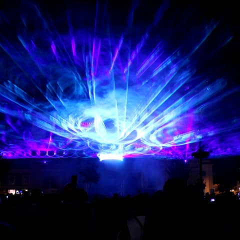 Festival Laser Show Airbeat One 2014