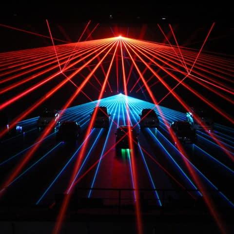 Infinity Cars Lasershow Peking