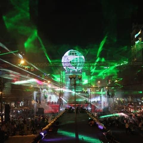 Heineken Lasershow in Vietnam