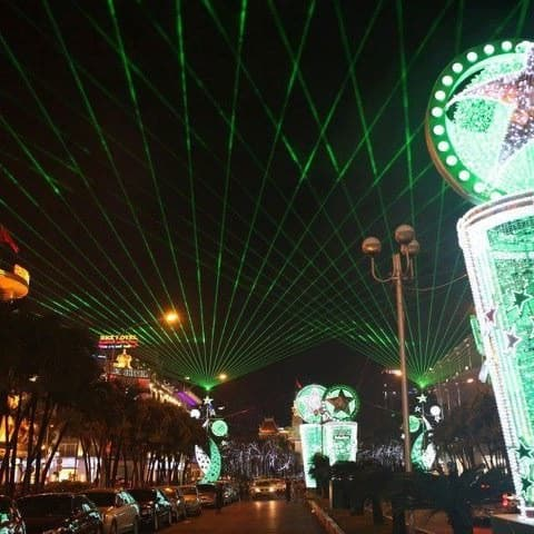 Heineken Laser & Videoshow in Vietnam