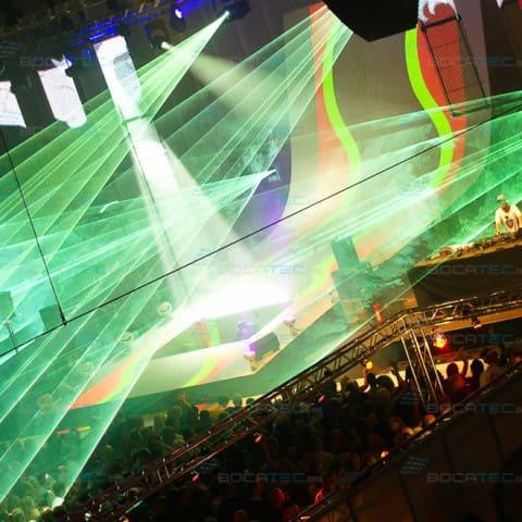 Pioneer Alpha Festival Laser Show