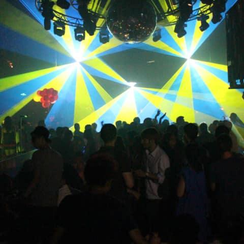 RGB Laser system club installation