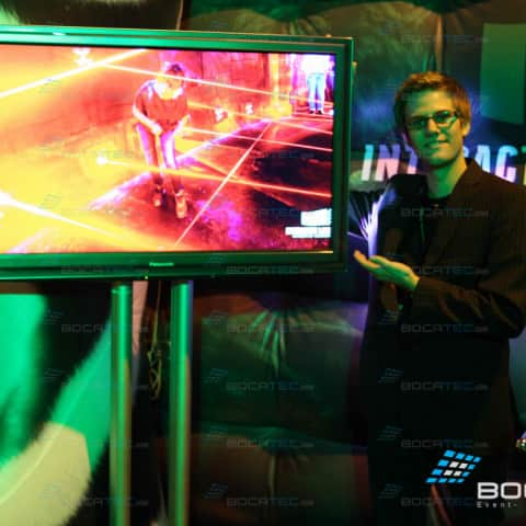 Interactive Lasergames Maze Mission at BPM Birmingham
