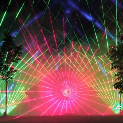 Lasershow Marriage