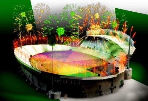 3D Vizualisation stadium