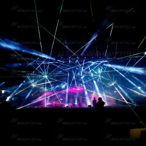 Big Indoor Lasershow