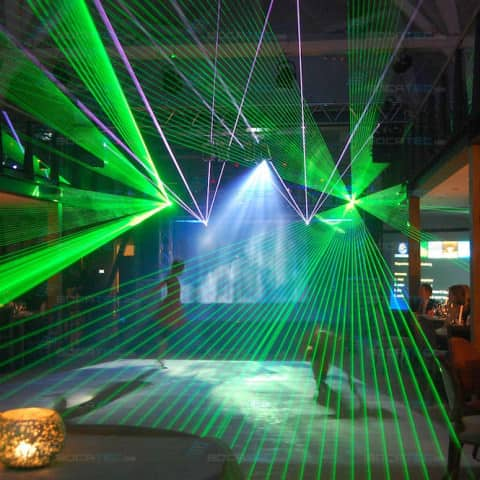 Company Event Laser Show