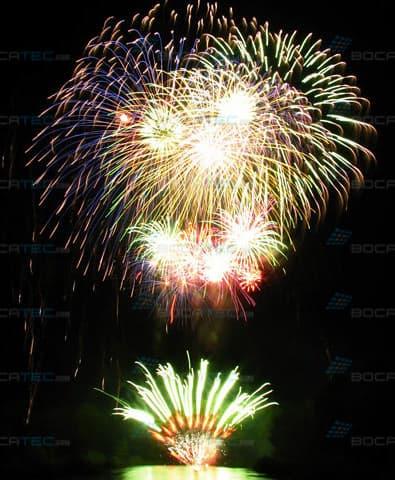 brilliant firework.