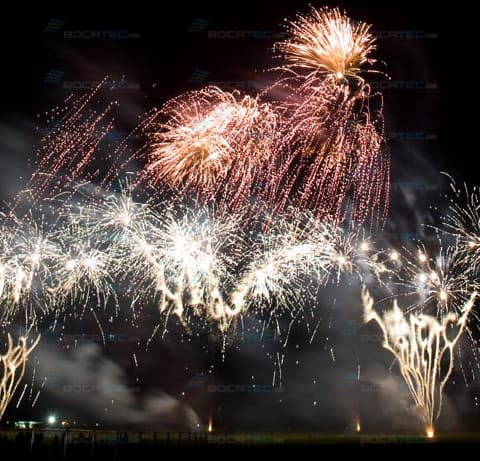 music fireworks, high altitude fireworks, indoor fireworks or a pyrotechnical performance