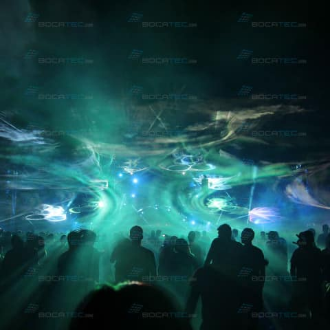 Airbeat One Festival 2014 Laser show
