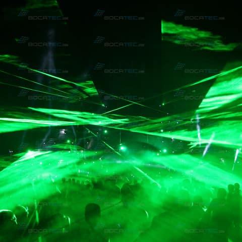 Green Festival Laser Show
