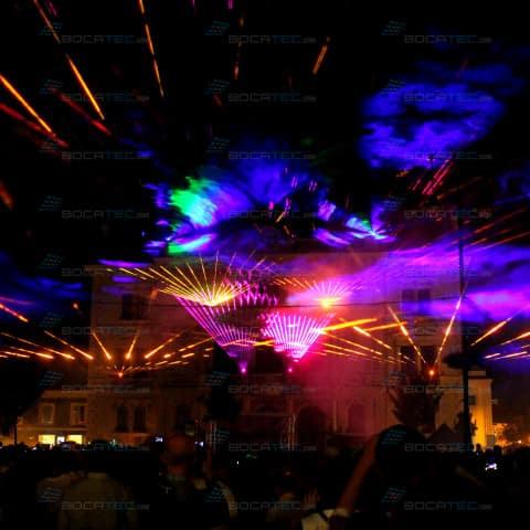 Outdoor Lasershow Tulln