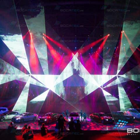 AMG Lasershow - Car Brand Show