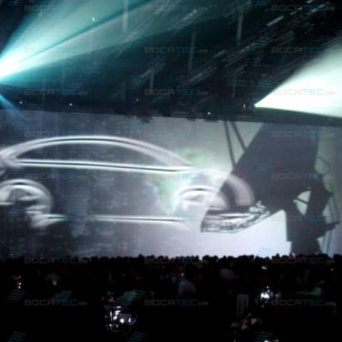 citroen video projection