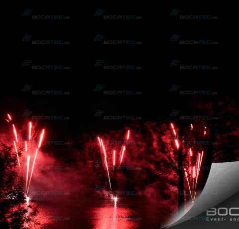 great fireworks with calibers of up to 600mm
