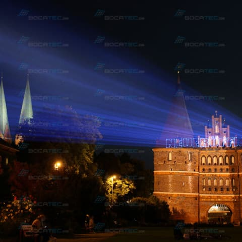 Holstentor Laserprojection