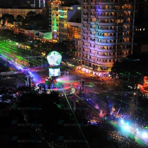 Heineken Vietnam Laser & Water Show