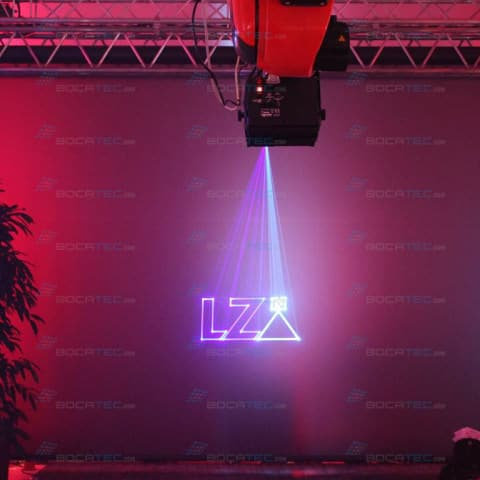 Laser logo branding