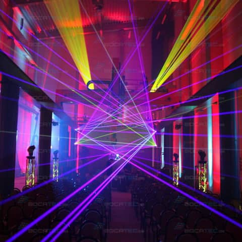 Company Event Lasershow