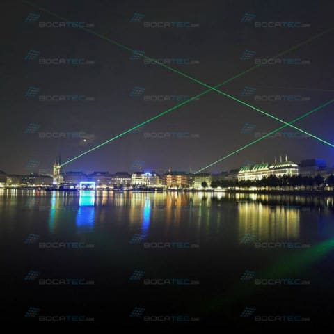 Hamburg Laser Beams
